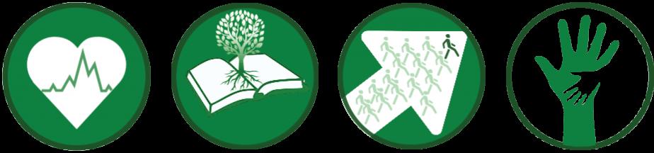 Side by Side Program Tools: Health, Eco-literacy, Leadership & Teen Mentors
