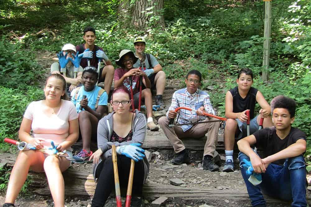 Trellis 4 Tomorrow Program: Youth Environmental Stewardship